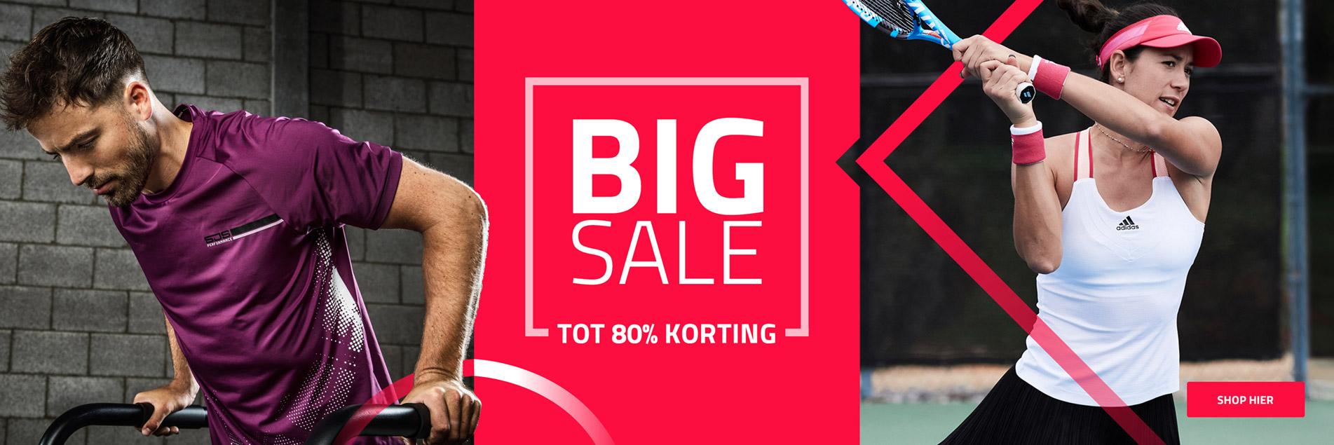 Big Sale | Tot 80% korting!