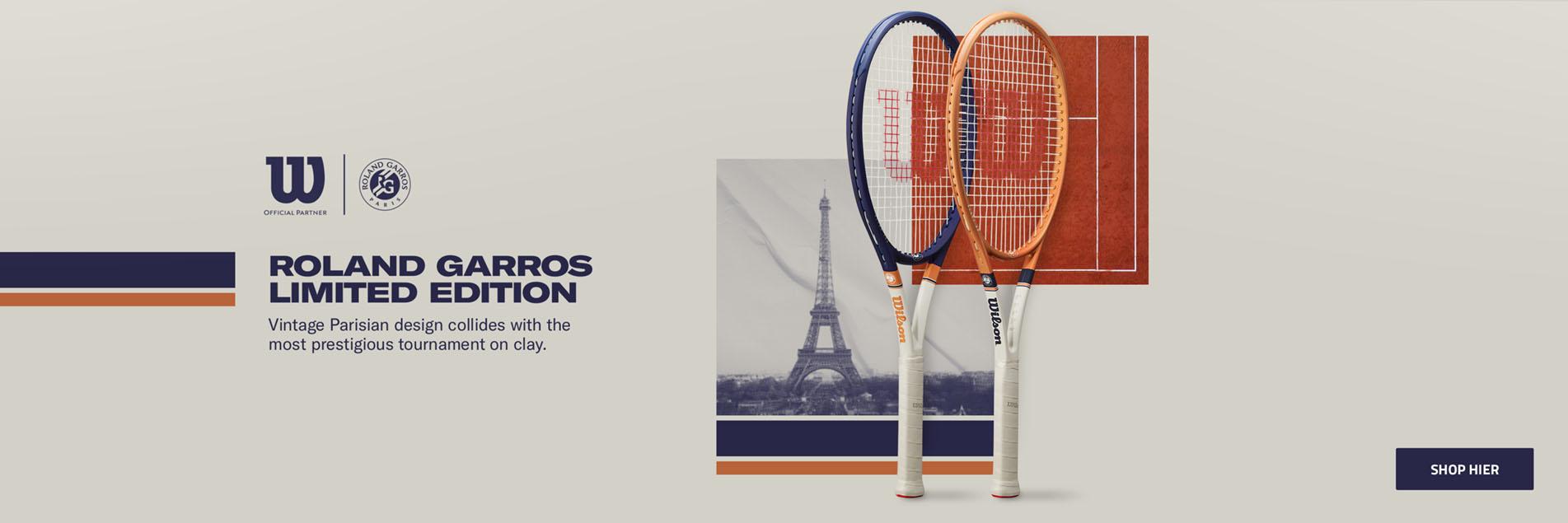 Wilson x Roland Garros