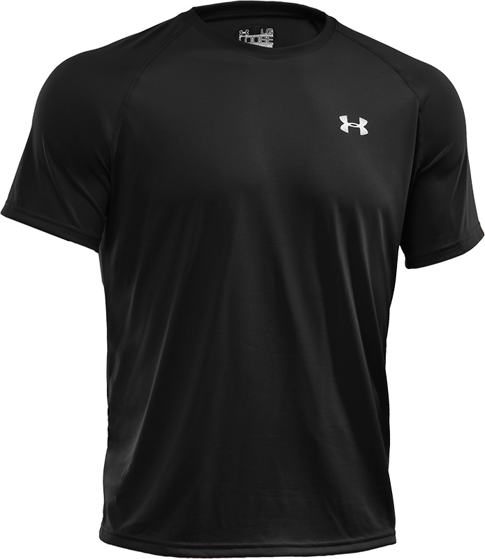 Under Armour Tech Shortsleeve Heren Trainingsshirt S