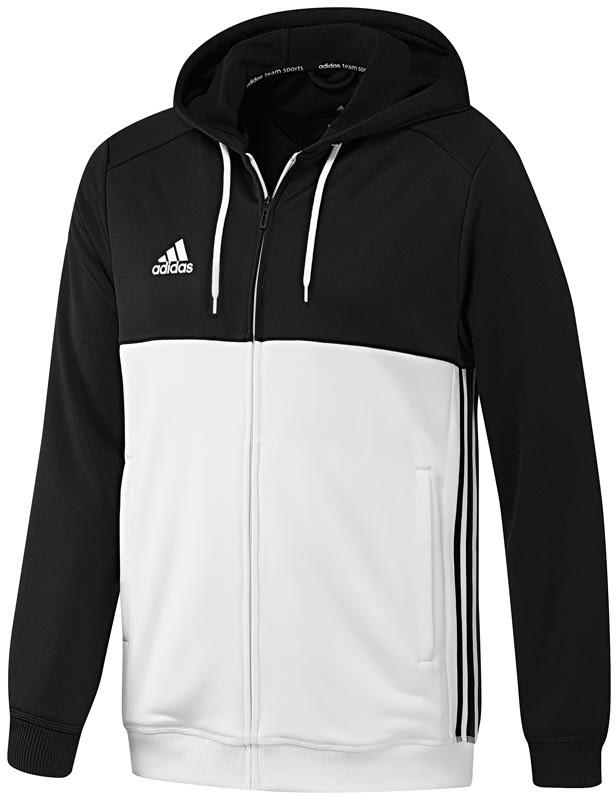 adidas T16 Hoodie, Zwart, 2XL, Male, Indoor