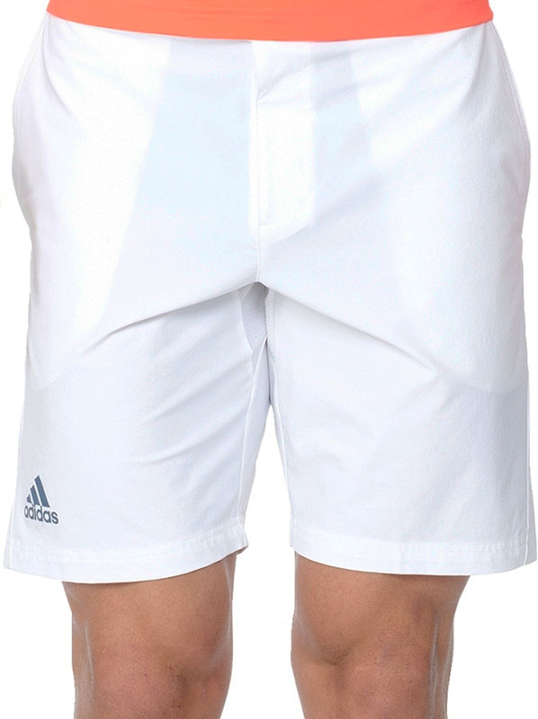 Adidas Barricade Bermuda Heren Tennis korte broek (wit) XL