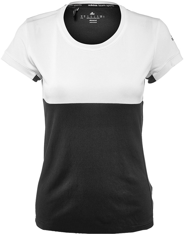 adidas T16 Tee Dames White-Black L