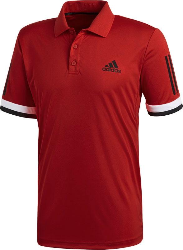 adidas Club 3 Stripe Polo