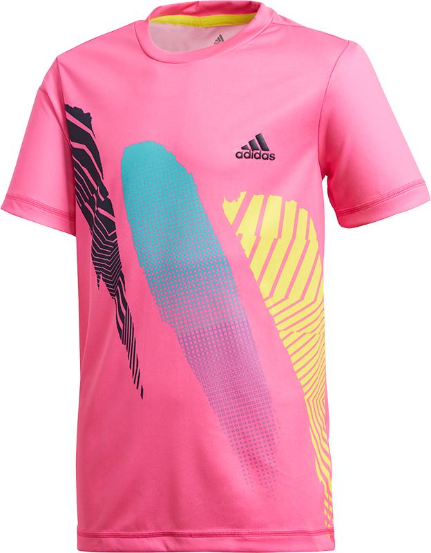 adidas Boys Rule#9 Tee Jongens Pink 128