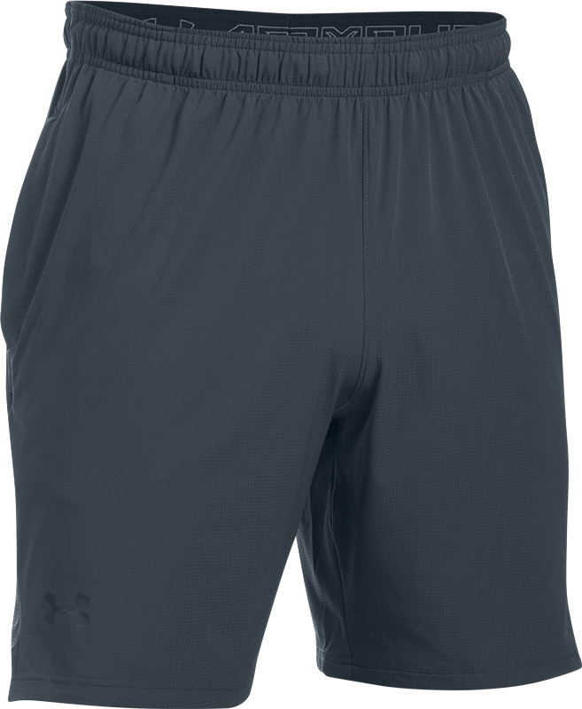 Under Armour Men's Cage Shorts Blue-Grey XXL Grey