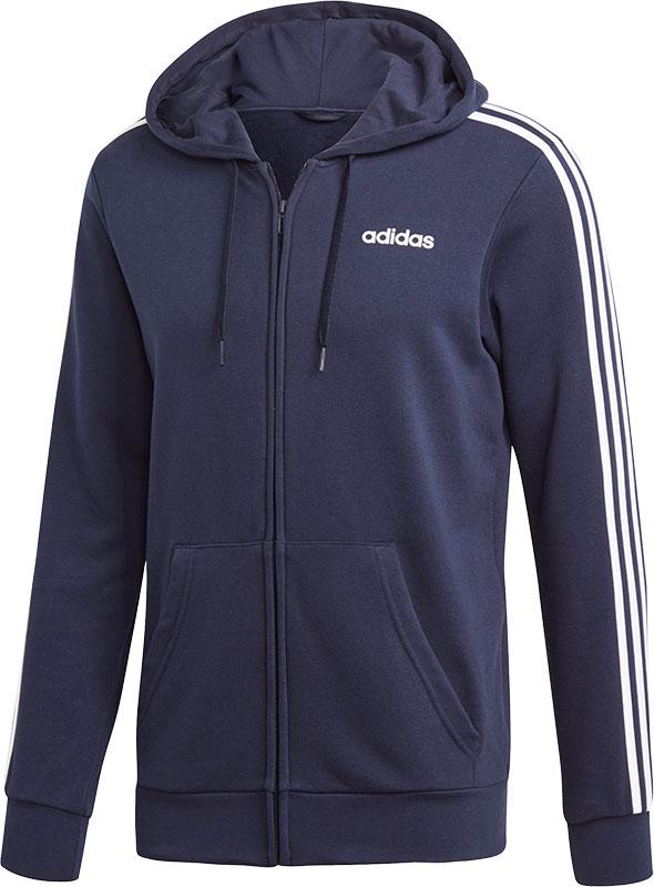 adidas Essentials 3 Stripes Full Zip Hoodie
