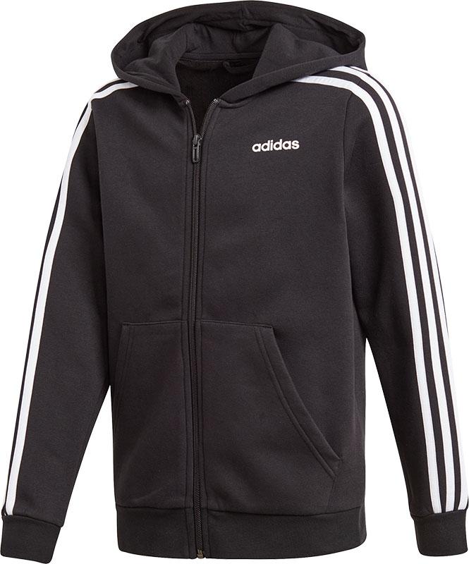 adidas Essentials 3 Stripes Full Zip Hoodie Jongens
