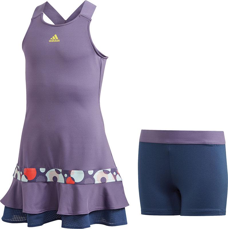 adidas Girls Frill Dress