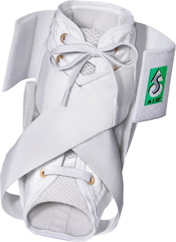 Aso Enkelbandage White