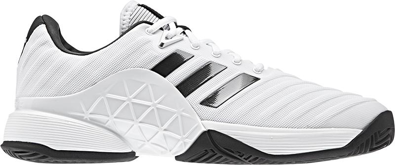 adidas Barricade 2018 Heren White 39 1-3