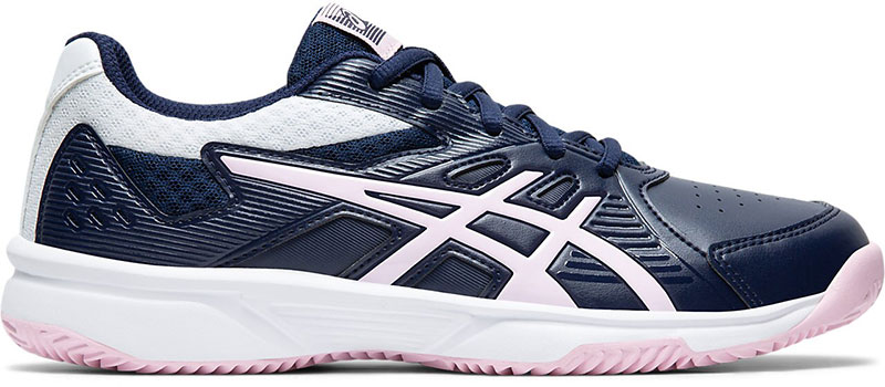 Asics Court Slide Clay Dames Dark Blue-White 42 1-2