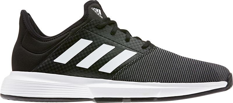 Adidas Tennisschoenen voor heren Gamecourt zwart