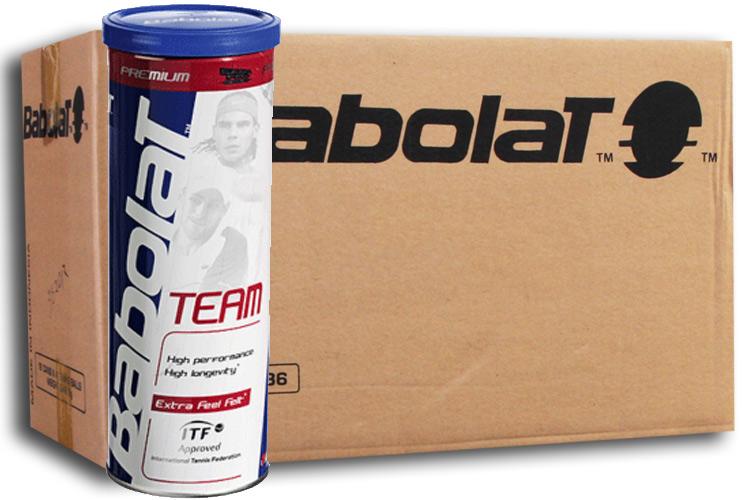 Babolat Team 30x3st. (7,5 Dozijn)