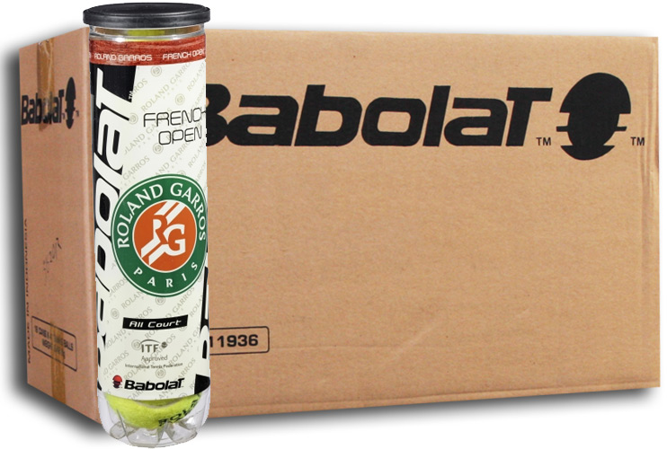 Babolat French Open All Court 18x4st. (6 Dozijn)