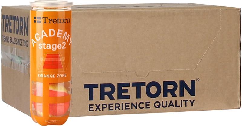 Tretorn Academy Stage 2 Orange 24x3st. Tretorn Academy Stage 2 De 24x3st Orange. (6 Dozijn) (6 Douzaine) kgdVfenr