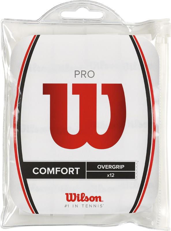 Wilson Pro Overgrip 12 Stuck (wit)