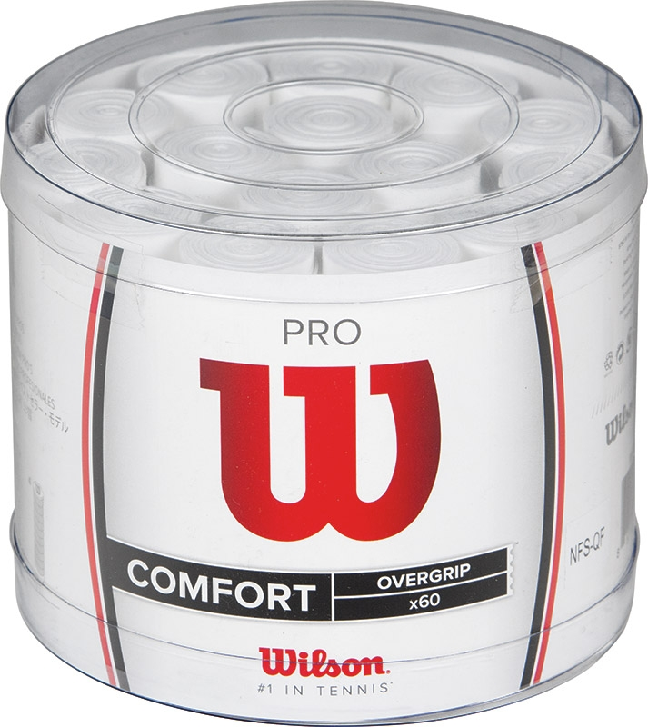 Wilson Pro Overgrip 60 Stuks (wit)