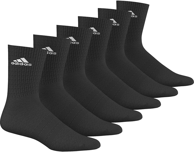 Adidas '6-Pack Performence' Socks Black