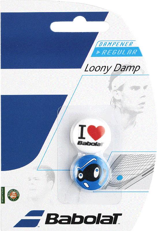 Babolat Loony Demper- 2 Stuks (wit-blauw)