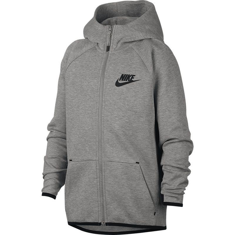 Nike Tech Fleece Full Zip Essentials Hoody Jongens