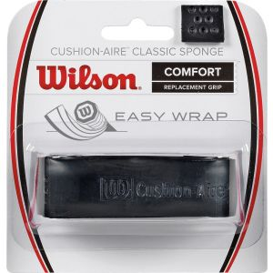 Wilson Cushion Air Sponge Basisgrip Zwart