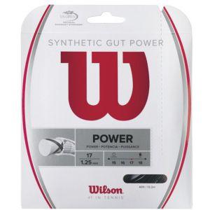 Wilson Synthetic Gut Power Set Black