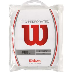 Wilson Pro Perforated 12 st. Overgrip Wit