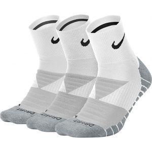 Nike Unisex Max Cushion Quarter 3-Pack Sokken