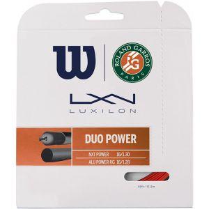 Wilson Duo Power Roland Garros Set Red/Natural
