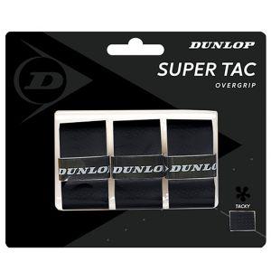 Dunlop D Tac Super Tac Overgrip 3 St. Zwart