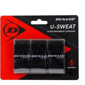 Dunlop D Tac U-Sweat Overgrip 3 St. Zwart