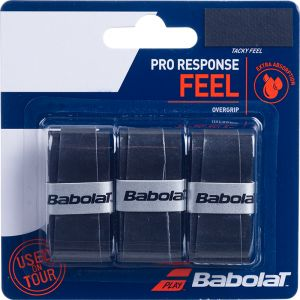Babolat Pro Response Overgrip 3 St. Zwart