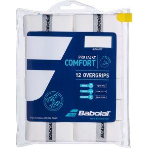 Babolat Pro Tacky Overgrip 12 St. Wit