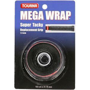 Tourna Mega Wrap Basisgrip Zwart