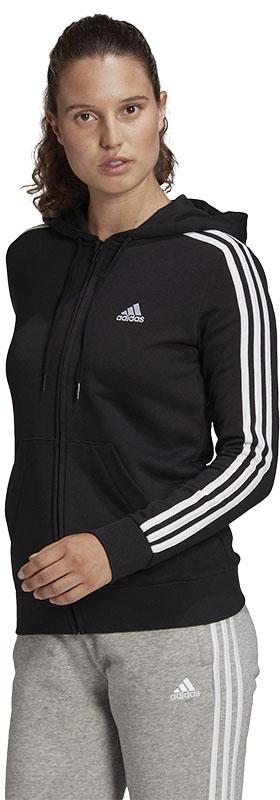 adidas Essentials 3-stripes vest zwart dames Dames