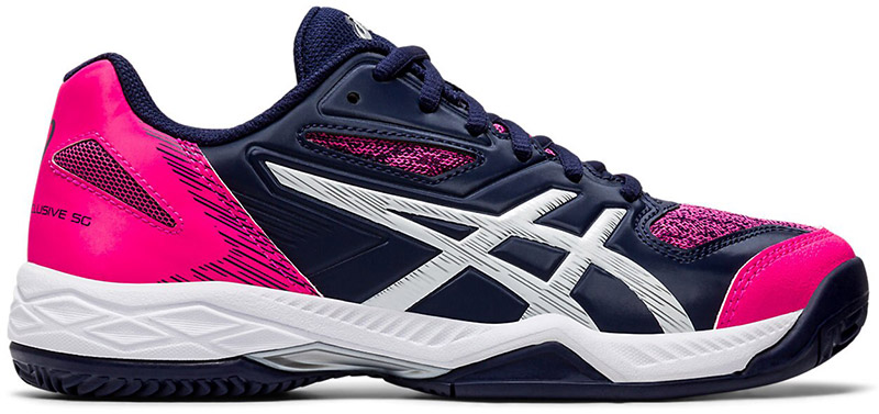 Asics Gel-Padel Exclusive 5 Padel Dames Blue-Pink 36