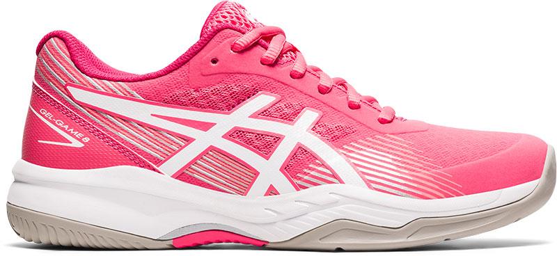ASICS Tennisschoenen voor dames Gel Game roze wit