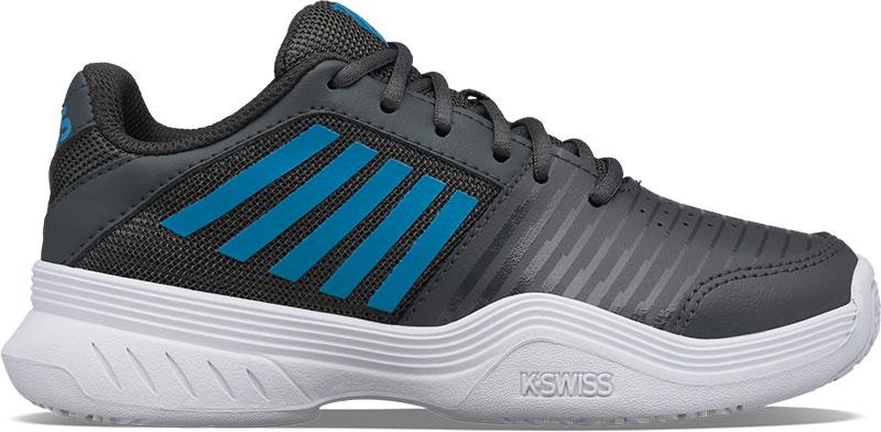 K-SWISS Tennisschoen kids court express omni dark shadow white swedish blue online kopen