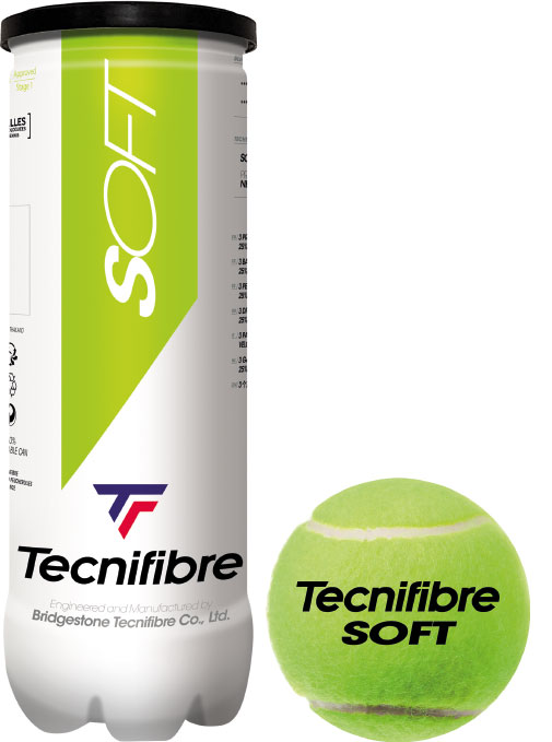 Tecnifibre Play & Stay Green 3 st.