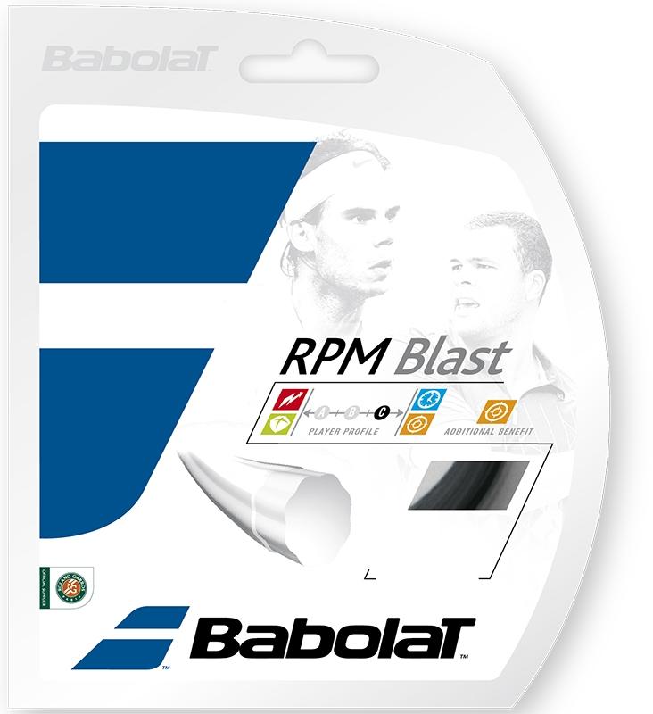 Tennissnaren Babolat RPM Blast 1,25 zwart