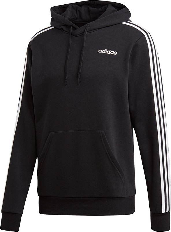 NU 20% KORTING: adidas Performance capuchontrui Essentials 3 Stripes
