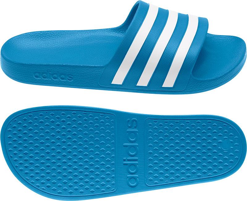 Adidas Performance Adilette Aqua badslippers blauw/wit online kopen
