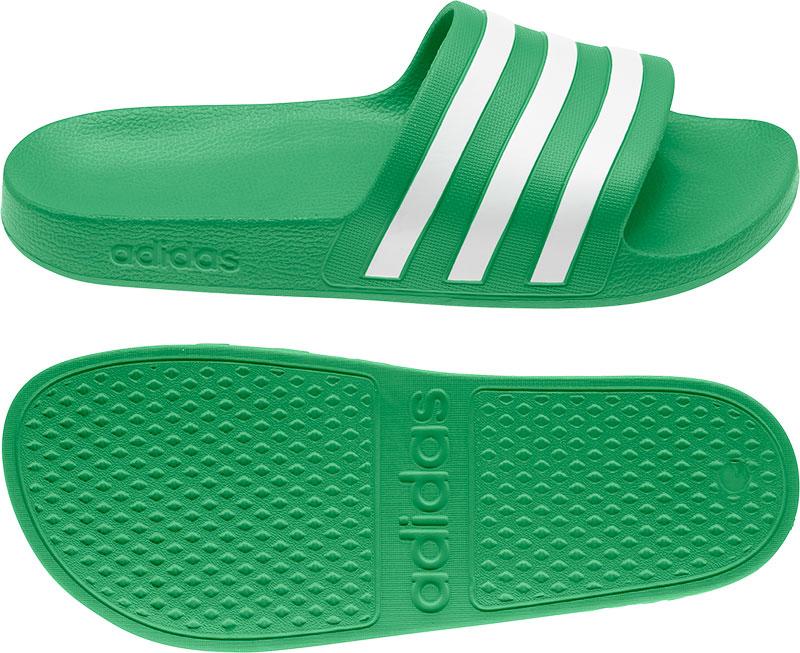 Adidas Performance Adilette Aqua badslippers groen/wit online kopen