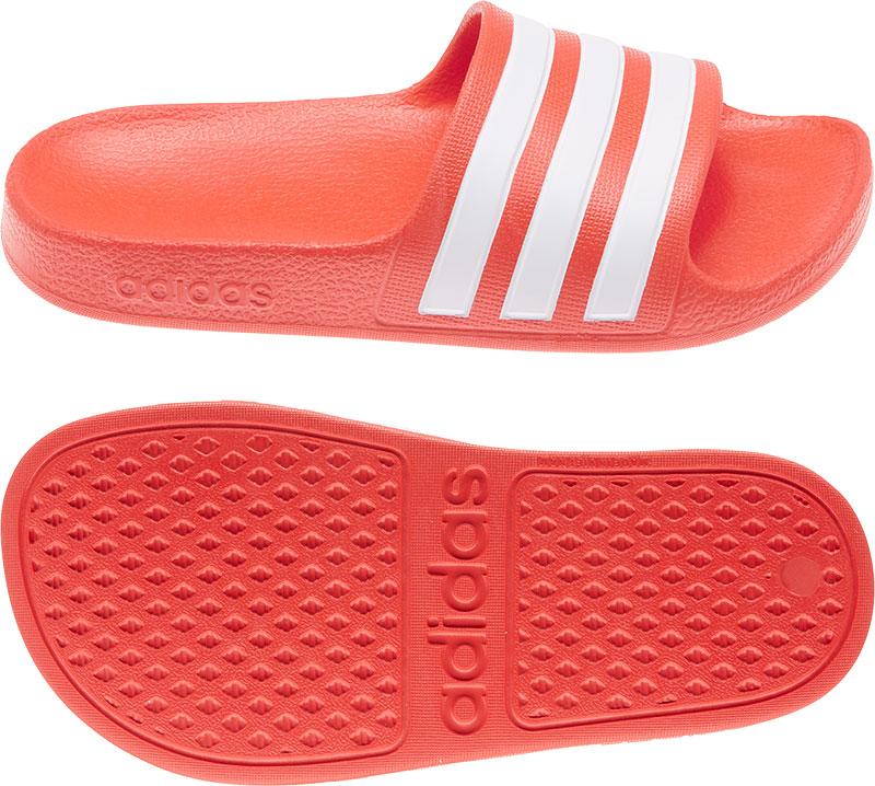 Adidas Performance Adilette Aqua badslippers rood/wit online kopen