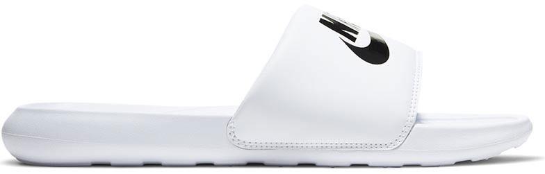 Nike Victori One Slippers in wit-Zwart online kopen