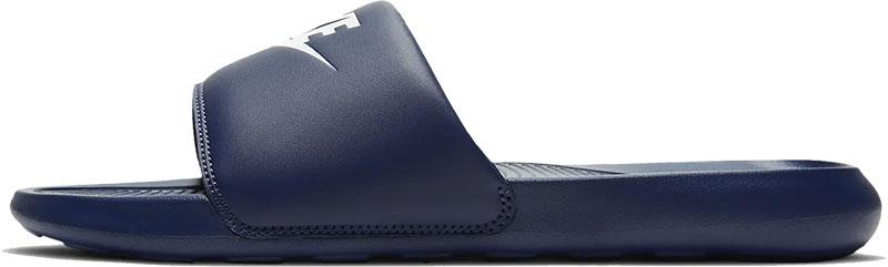 Nike Victori One Slide slippers donkerblauw/wit online kopen