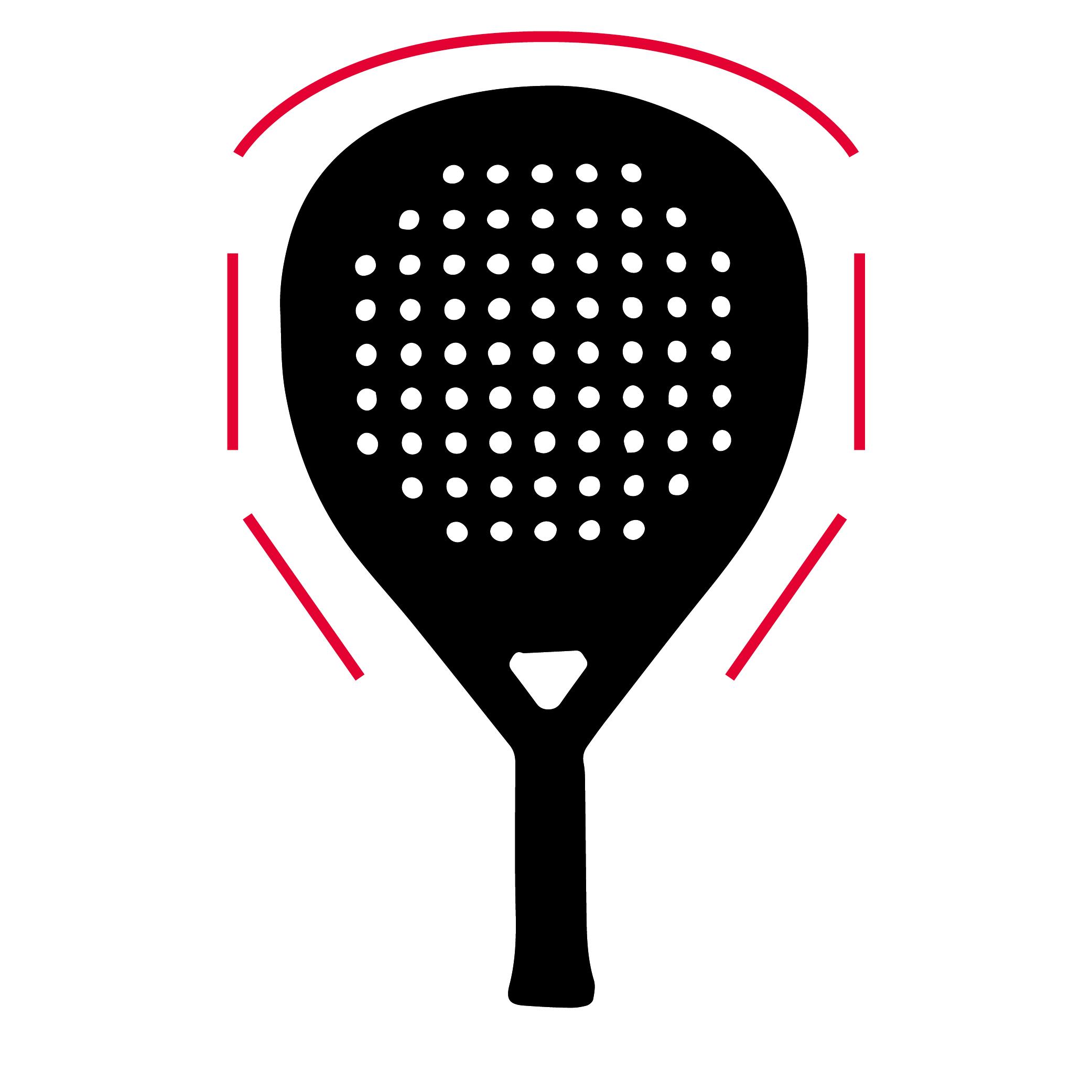 Padel racket Druppel